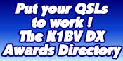 The K1BV DX Awards Directory